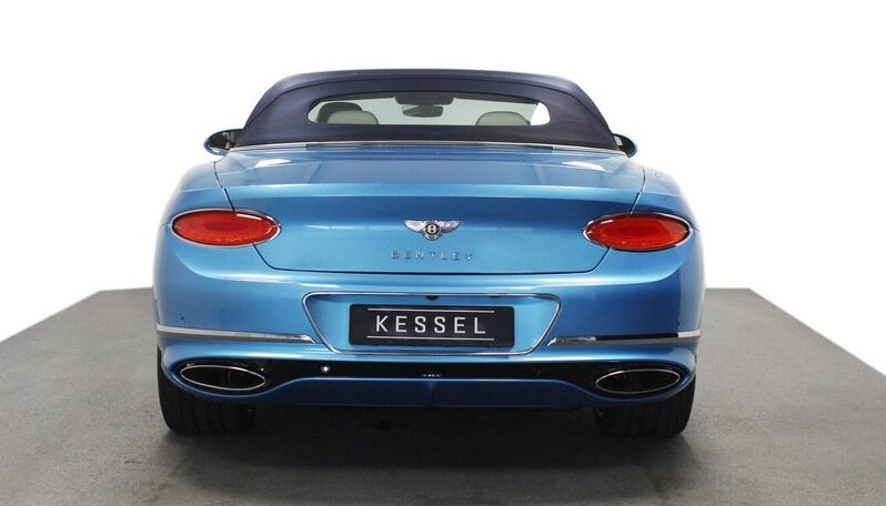 BENTLEY Continental GTC 6.0 W12 2020 full