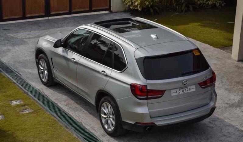 2018 BMW X5 xDrive25d full